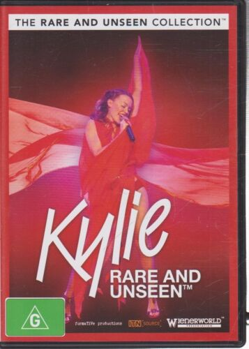 New DVD - Kylie - Rare and Unseen