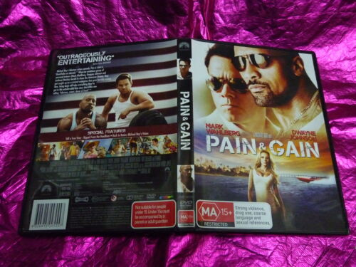 PAIN & GAIN : (DVD, MA15+)
