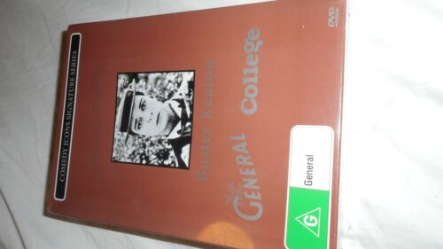buster keaton the general and college dvd boxed set,brand new sealed