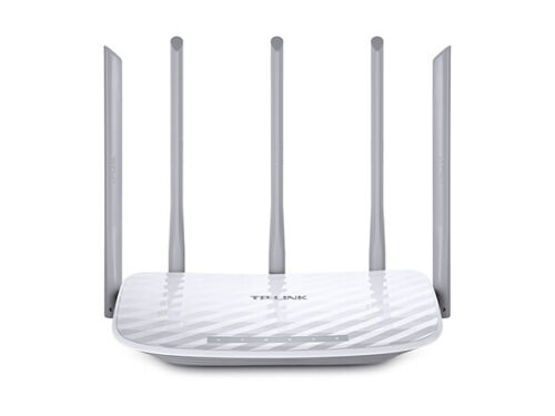 TP-LINK ARCHER C60 Ver1.0 AC1350 Dual Band Wireless Router 802.11ac 1350Mbps