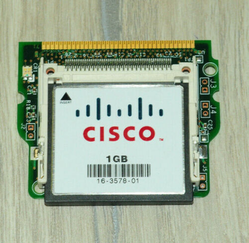 Cisco CF-ADAPTER-SP SUP720 Boot Flash Adapter /w Flash 1GB Memory Fast Shipping