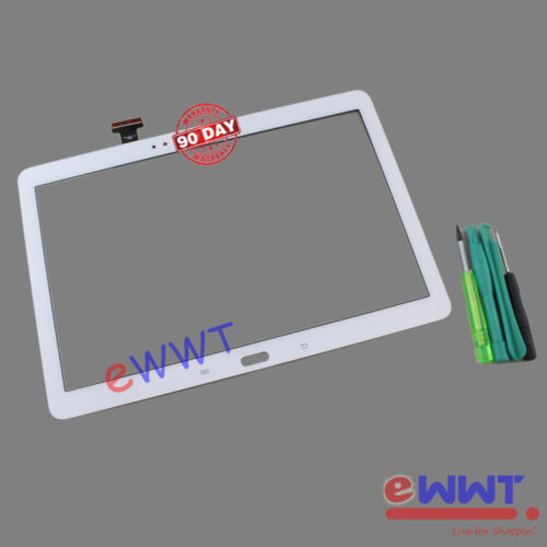 White LCD Touch Screen+Tools for Samsung Galaxy Note 10.1 (2014) SM-P600 ZVLT635