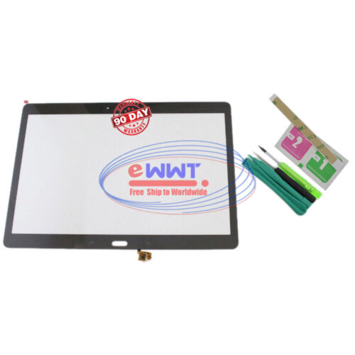 FREE SHIP for Samsung Galaxy Tab S 10.5 Bronze LCD Digitizer Glass+Tools ZVLT856