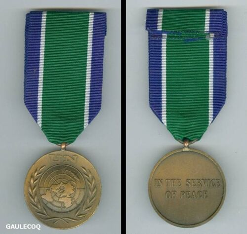 Six 6 inches of ribbon material for UN United Nations Mali Award medal