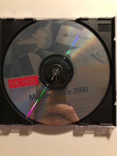 McAfee Office 2000 PC Diagnostic Utility Tool & Software