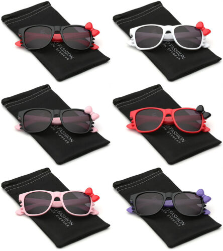 Hello Kitty BABY SUNGLASSES Infant Toddler Bow Tie Cute Girls Boys Glasses
