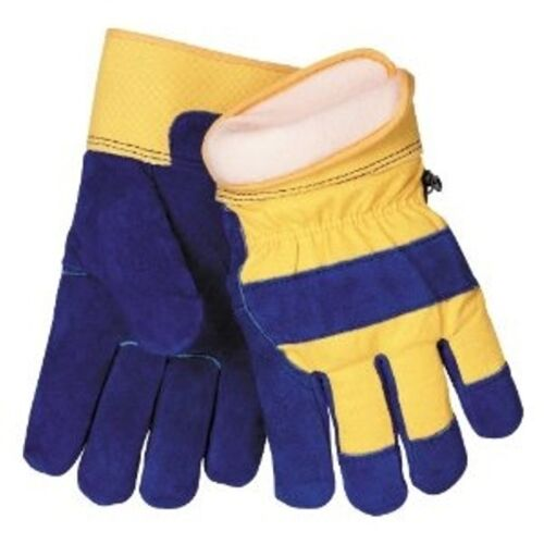 Waterproof Insulated Cowhide Winter Work Glove - 100gm 3M Thinsulate - Large
