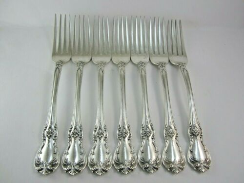 1 TOWLE OLD MASTER  DINNER FORK (NOT MONOGRAMMED )