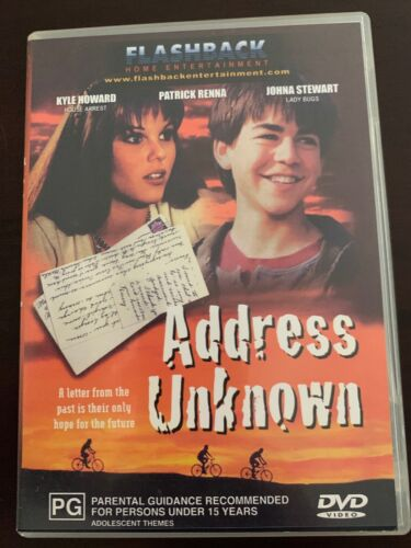RARE MOVIE - ADDRESS UNKNOWN - DVD - 1997 Kyle Howard TOUCHING FAMILY  FILM - R4