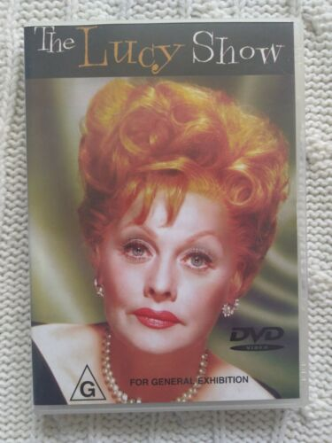 THE LUCY SHOW – DVD- REGION-ALL- LIKE NEW-FREE POST IN AUSTRALIA