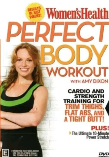 🆕 NEW Women's Health: Perfect Body Workout  - DVD 0