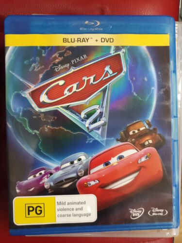 cars 2 bluray only (missing DVD disc)