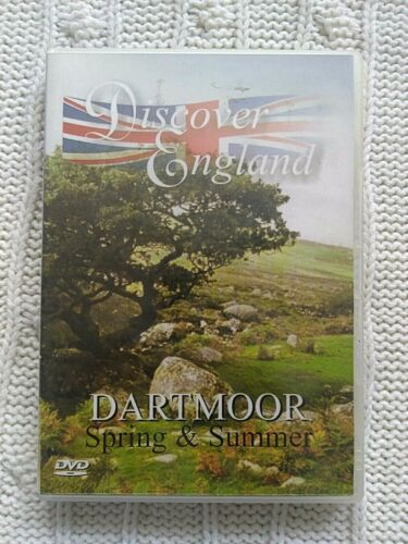 DISCOVER ENGLAND- DARTMOOR: SPRING AND SUMMER - DVD- R-ALL- VERY GOOD-FREE POST