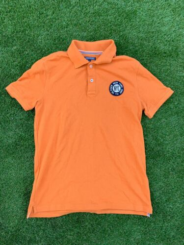 Tommy Hilfiger Polo Orange Youth 16 Great Condition