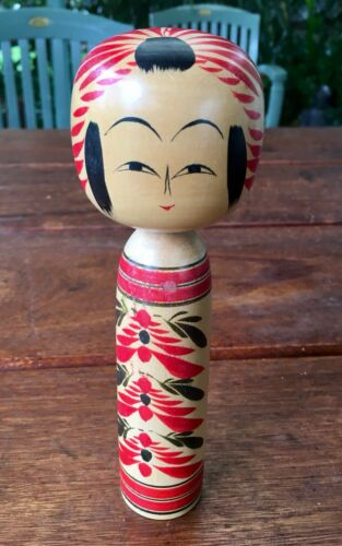 Vintage Asian Wooden Hand Carved Toy Figurine