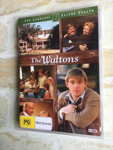THE WALTONS - COMPLETE SECOND SEASON - REGION 4 PAL - 5 DISC DVD - NEW SEALED