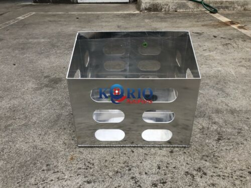 FLATALLOY JERRY CAN HOLDER FOR CANOPY TOOLBOX,TRAILER,CARAVAN,RV 380Lx200Wx340mm <br/> FOR CANOPY TOOLBOX,TRAILER,CARAVAN,RV,CAMPER TRAILER