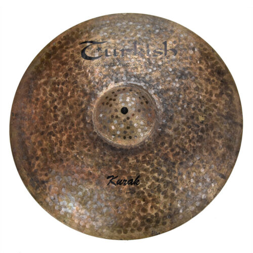 "TURKISH CYMBALS Becken 19"" Crash Ride Kurak  bekken cymbale cymbal  1722g"