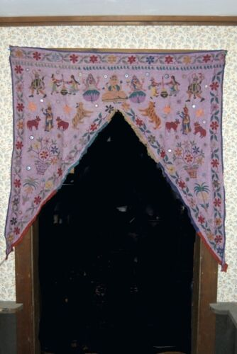 Hand Embroidered Gujratti Door Hanging New-Imported