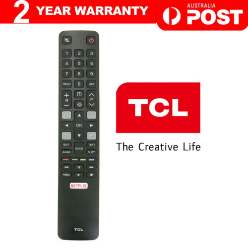 Original TCL TV Remote RC802N ARC802N YUI1 For 65C2US 75C2US 43P20US NETFLIX NEW <br/> CLEARANCE, SAME DAY SHIPPING, From MELBOURNE