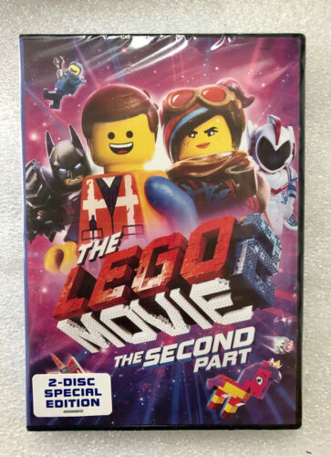 The LEGO Movie 2 The Second Part (2019) 2 Disc Special DVD