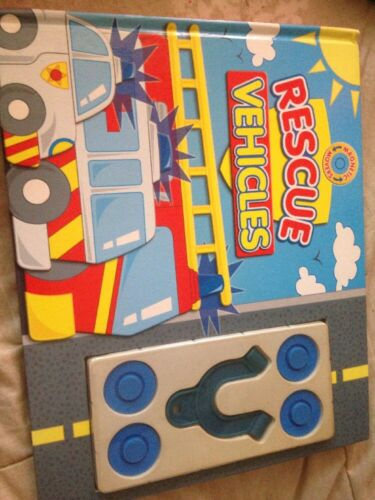 Magnetic Movers Rescue Vehicles. Freepost (Bin4)