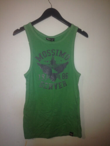 MOSSIMO YOUTH DENVER SINGLET/TANK TOP -  GRASS   BNWOT SZ 14  - FREE POSTAGE F91