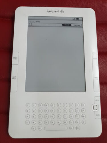 Kindle keyboard D000701 3G only