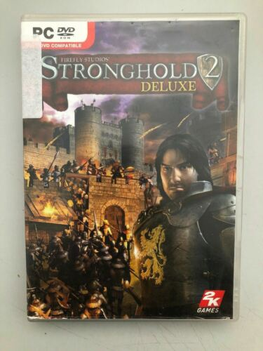 Stronghold 2 Deluxe PC DVD - Castle Life/Buidling Strategy GAME