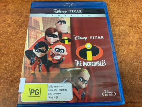 The Incredibles BLU-RAY Disc