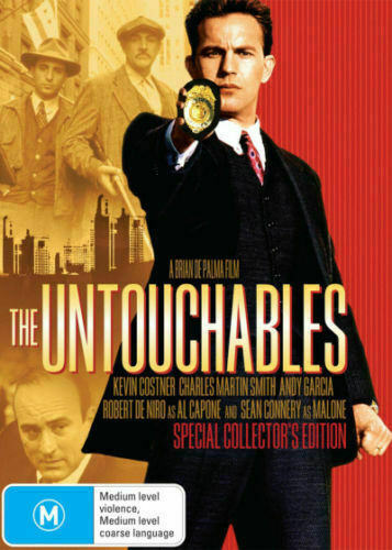 THE UNTOUCHABLES – DVD- REGION-4- NEW AND SEALED- FREE POST WITHIN AUSTRLIA