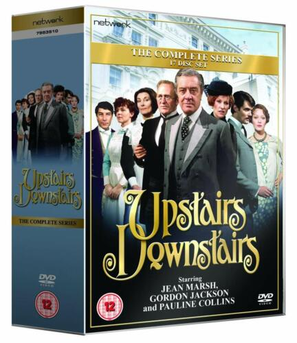 "UPSTAIRS DOWNSTAIRS COMPLETE SERIES COLLECTION 1-5 DVD BOX SET 17 DISCS R4 ""NEW"""
