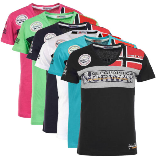 T-shirt maglia maniche corte Short Sleeves JIDNEY men uomo GEOGRAPHICAL NORWAY s