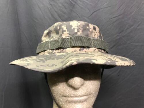 1a9707f267aa $9.99 Military Boonie Hat Army Digital Camo Extra Large Size 7-3/4Hats &  Helmets
