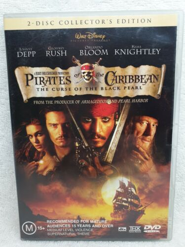 Pirates of the Caribbean, The Curse Of The Black Pearl DVD 2 DISCS Edition