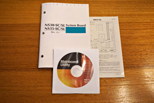 DFI NS30-SC/SL NS35-SC/SL System Board / Manual Rev. A+