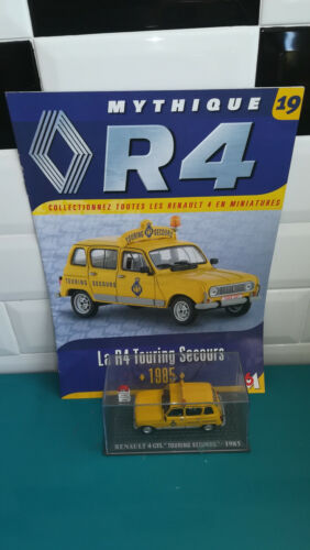 RENAULT 4 GTL touring secours 1985 1/43 voiture 4L M6