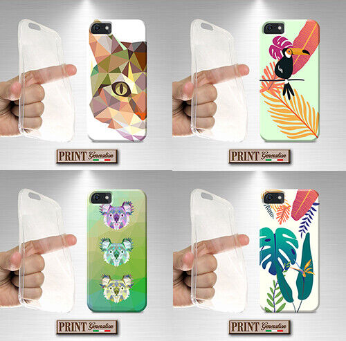 Cover for , Asus Zenfone, Animal, Tropical, Silicone, Soft, Colours, Birds