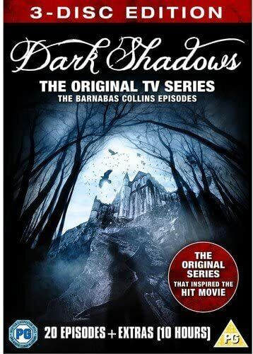 DARK SHADOWS THE REVIVAL COMPLETE SERIES COLLECTION 3 DISC DVD BOX SET R4 NEW