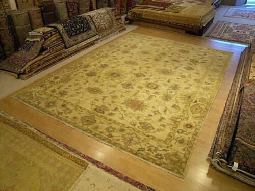 10 x 14 Fine Quality Handmade Egyptian Sultanabad Rug _ Veggie Dyes Fine Wool
