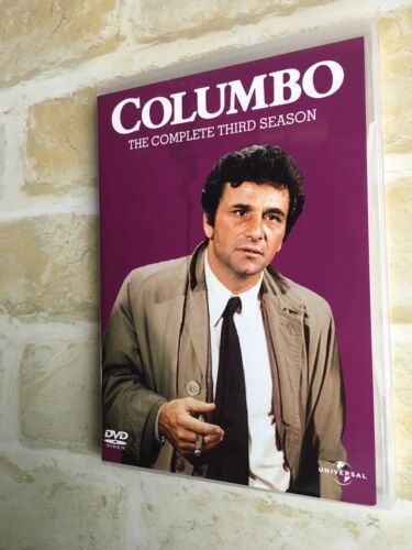 COLUMBO - THE COMPLETE THIRD SEASON - REGION 4 PAL - 4 DISC DVD SET