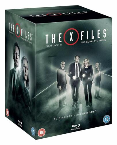 """THE X FILES COMPLETE SERIES COLLECTION 1-11 BOX SET 60 DISCS BLU-RAY REG B """"NEW"""""""