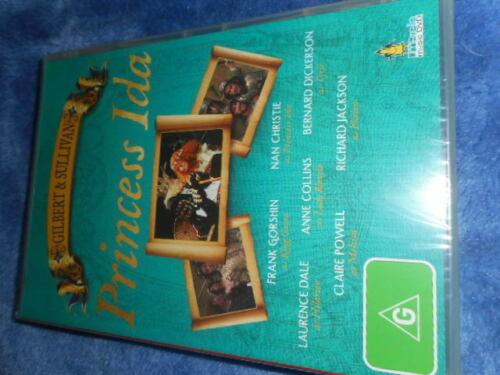 GILBERT AND SULLIVAN PRINCES IDA DVD ,BRAND NEW SEALED