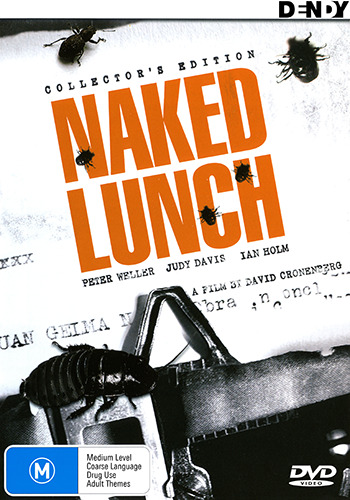 Peter Weller Judy Davis NAKED LUNCH - COLLECTOR'S EDITION DVD (NEW & SEALED)