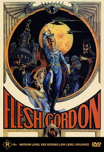 Jason Williams Suzanne Fields FLESH GORDON DVD (NEW & SEALED)