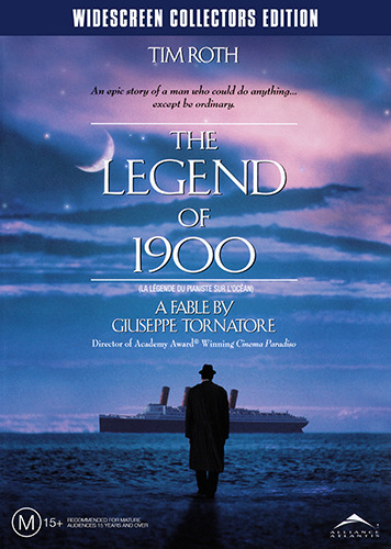 Tim Roth THE LEGEND OF 1900 - WIDESCREEN COLLECTORS EDITION DVD (NEW & SEALED)
