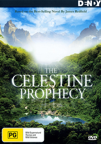 THE CELESTINE PROPHECY - JAMES REDFIELD ADAPTATION DVD (NEW & SEALED)