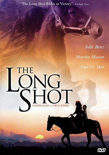 Julie Benz THE LONG SHOT - INSPIRING TRUE STORY HORSE DRAMA DVD (NEW & SEALED)
