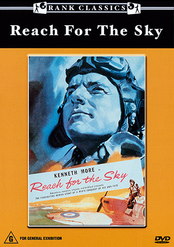 Kenneth More REACH FOR THE SKY - REMARKABLE TRUE STORY DVD (NEW & SEALED)