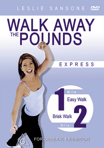 Leslie Sansone WALK AWAY THE POUNDS - WEIGHT LOSS WORKOUT DVD (NEW & SEALED)